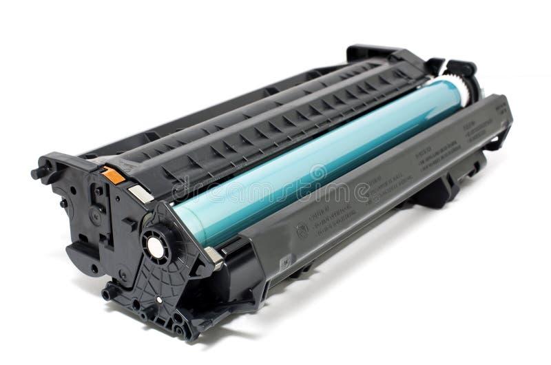 Laser toner. Printer cartridge isolated royalty free stock photos
