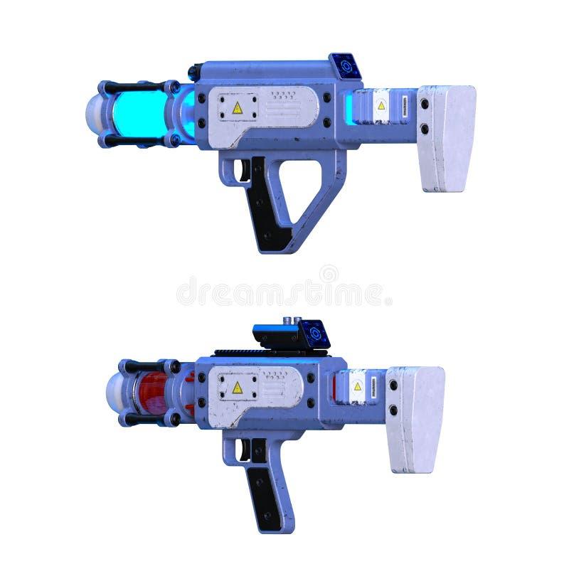 Laser-vapen arkivfoton