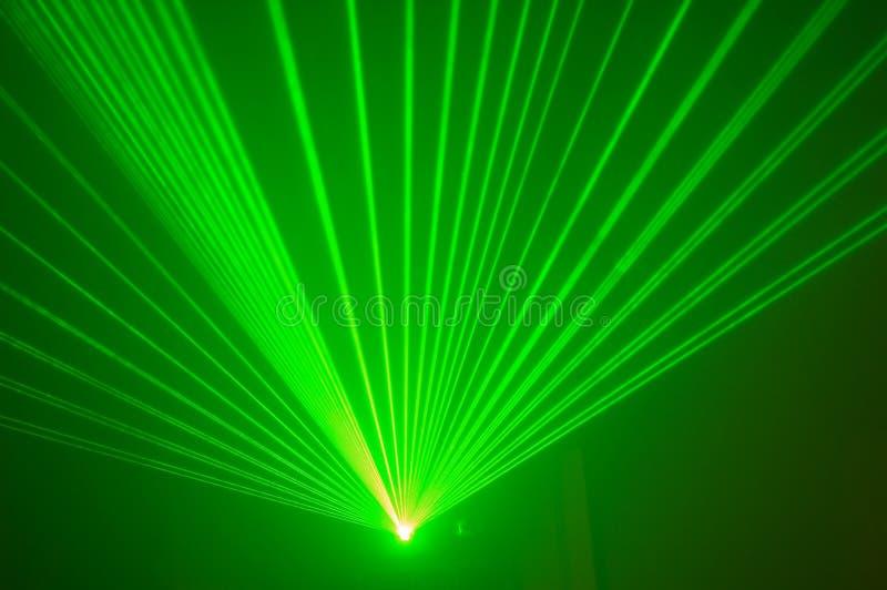 Laser verde 3 fotos de archivo libres de regalías