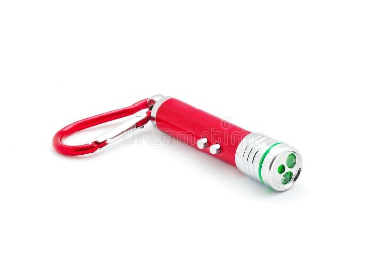 Laser-Zeigertaschenlampe stockbilder