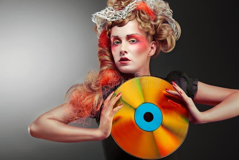 Download Laserdisco. stock photo. Image of leisure, fashion, beauty - 19629834