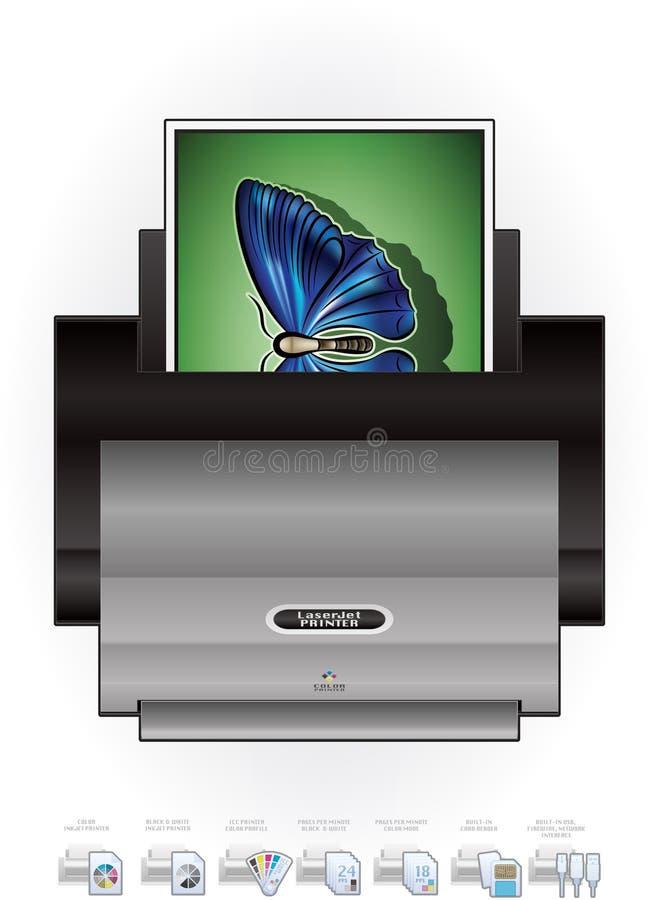 LaserJet Printer Royalty Free Stock Images