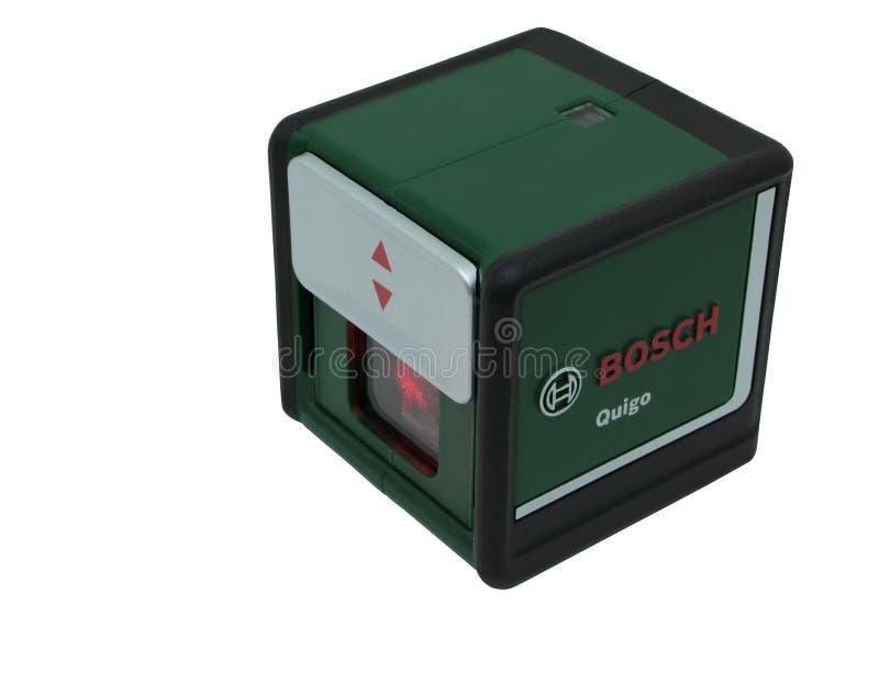 Laserniveau royalty-vrije stock foto