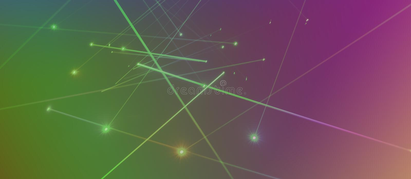 Laserowy oświetlenie obraz royalty free
