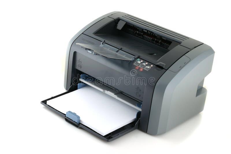Laserprinter royalty-vrije stock afbeeldingen