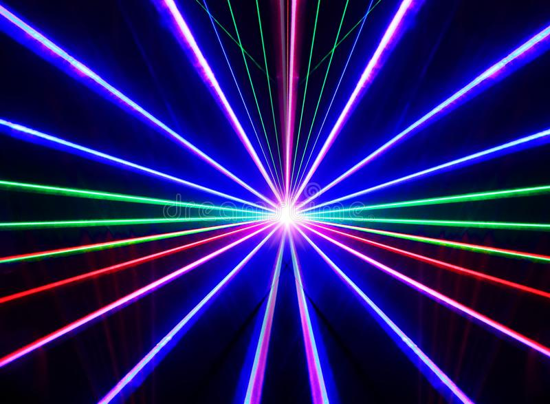 Lasers ilustração stock