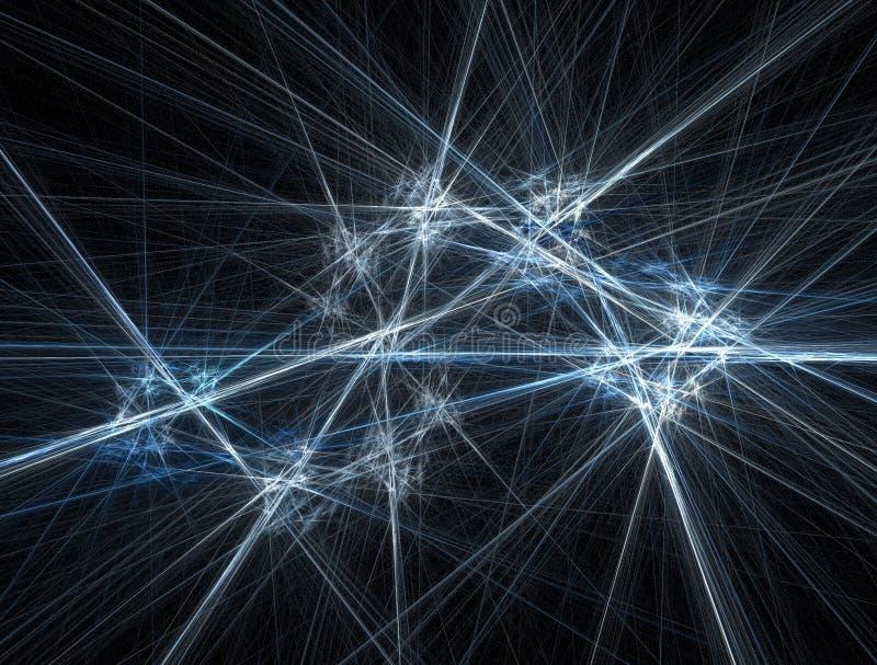 Lasers congelados stock de ilustración
