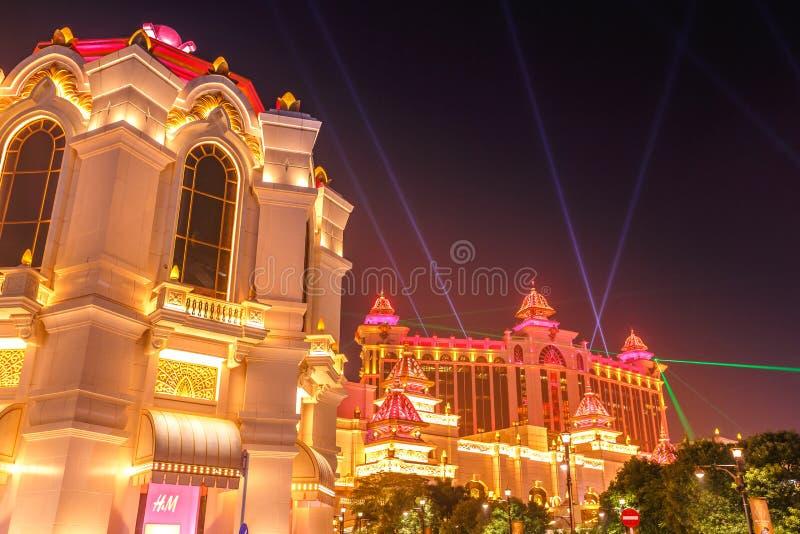 Lasers de casino de galaxie photo stock