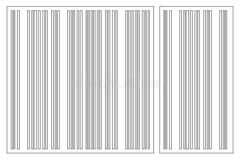 LaserSet 2077 2 illustration de vecteur
