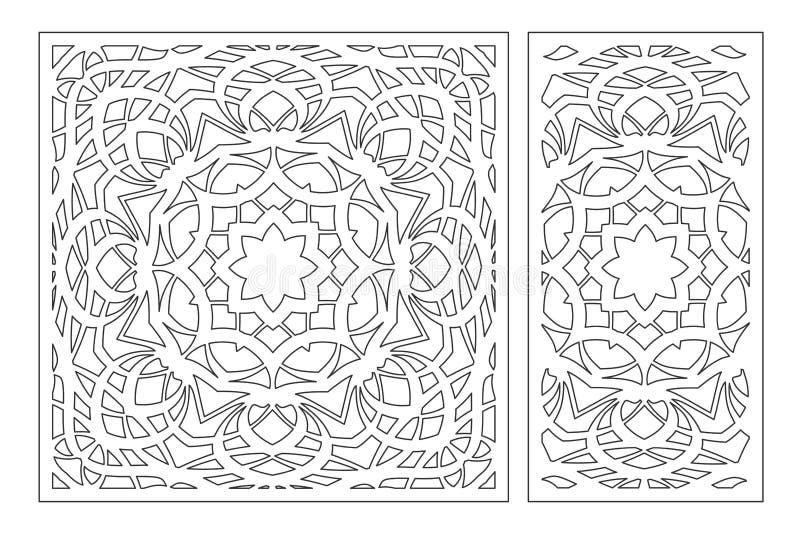LaserSet 2077 2 royaltyfri illustrationer