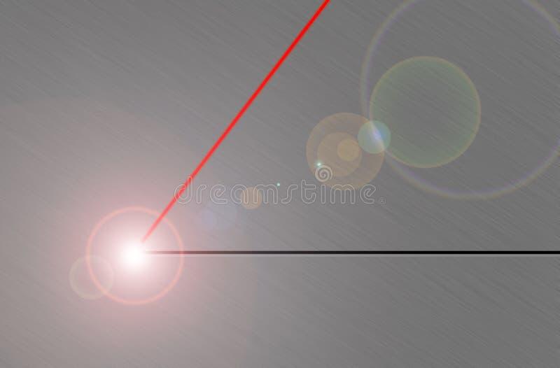 Laserstrahl lizenzfreie abbildung