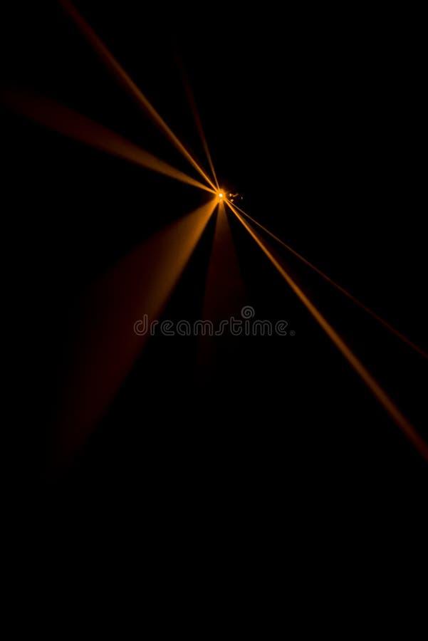 Laserstrahlorange lizenzfreie stockfotos