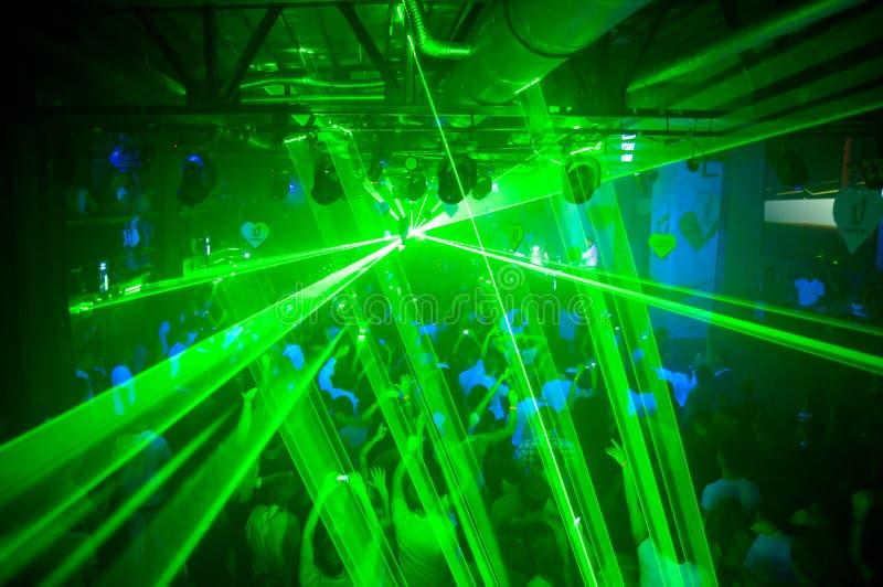 Laseru przyjęcie obrazy stock