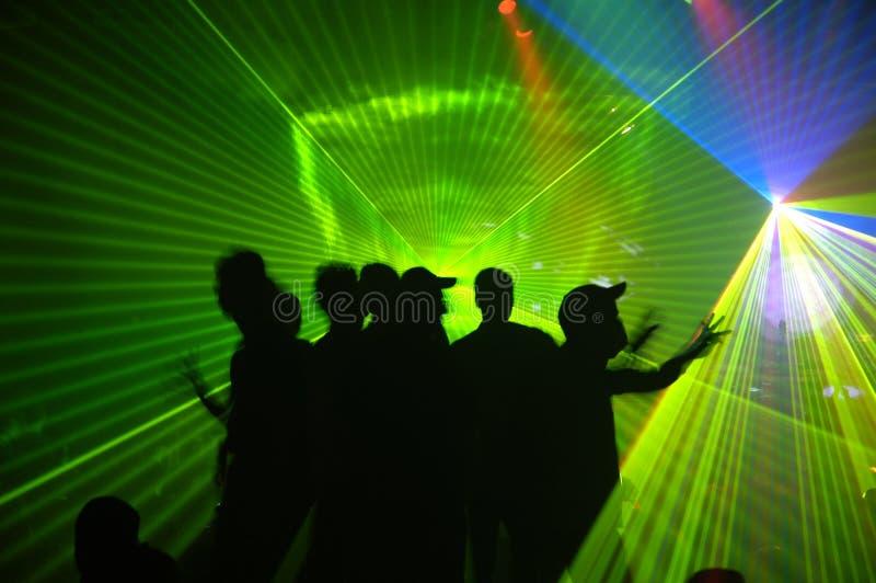 laseru przyjęcie obraz royalty free