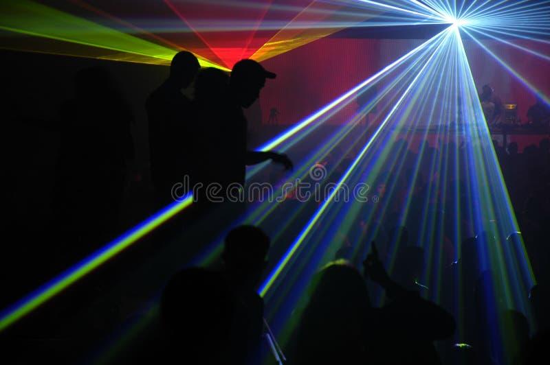 laseru przyjęcie zdjęcia royalty free