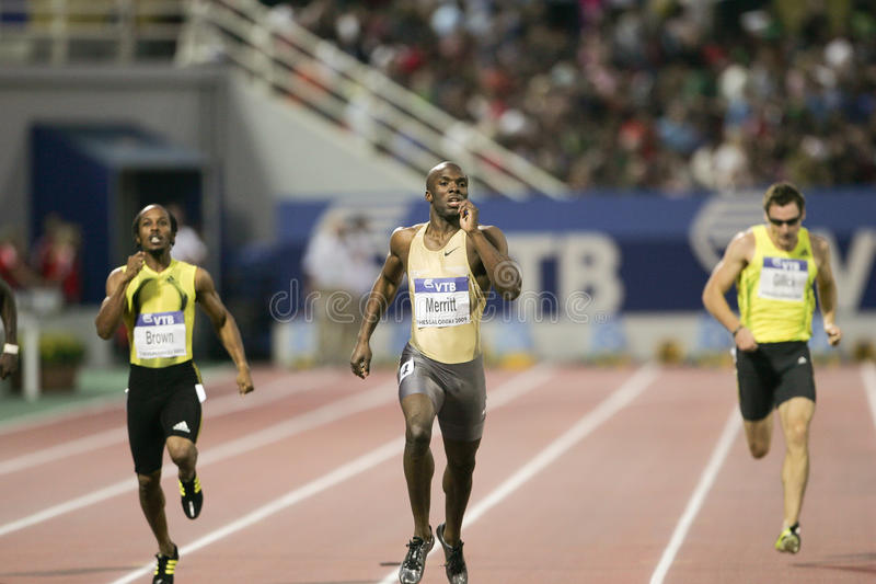 LaShawn Merritt photographie stock