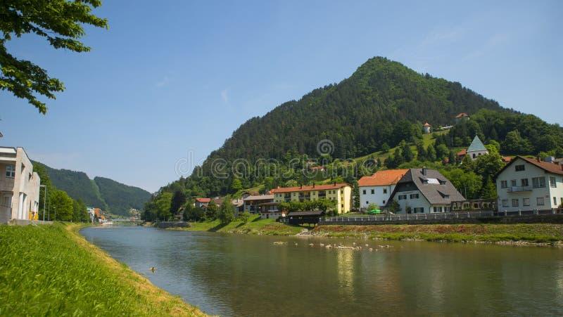 Lasko town, Slovenia. Lasko town in central part of Slovenia stock photography