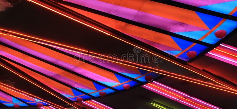 laslampor vegas royaltyfria foton
