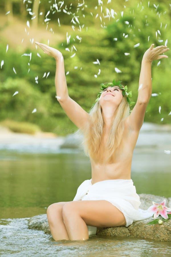 lasowa boginka zdjęcie royalty free