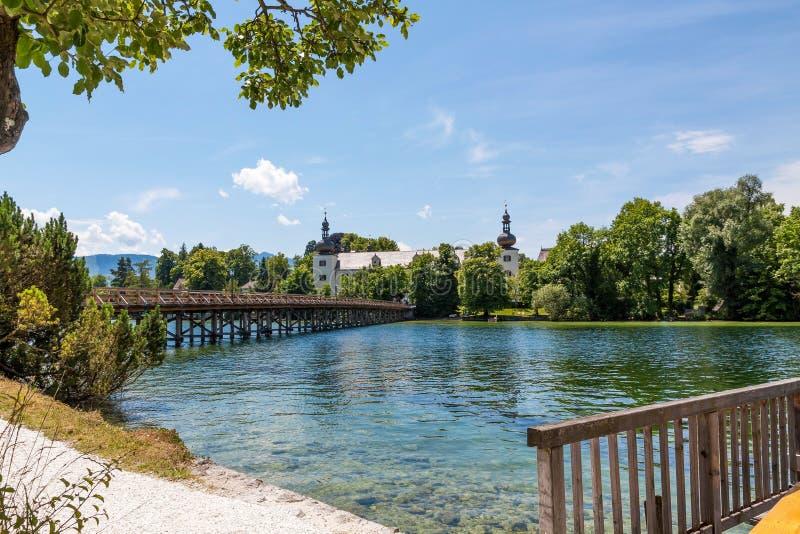 Lasowa i Drewniana zarządzanie instytucja edukacyjna, Gmunden obraz royalty free