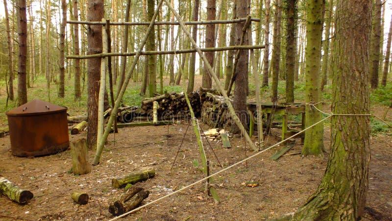 Lasowy warsztat obraz stock