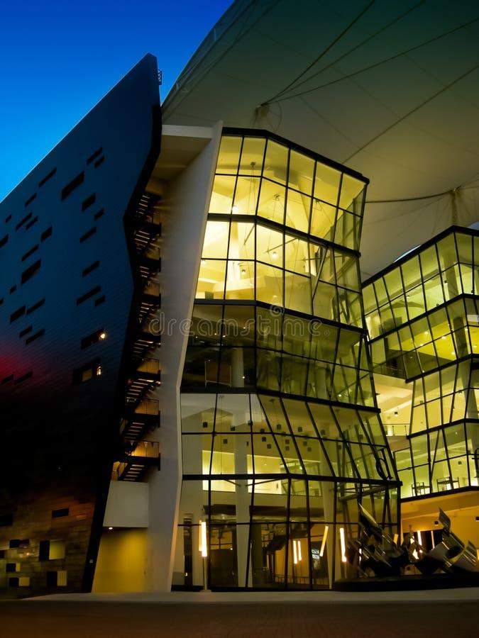 LASSALE universiteit van de Arts. stock foto