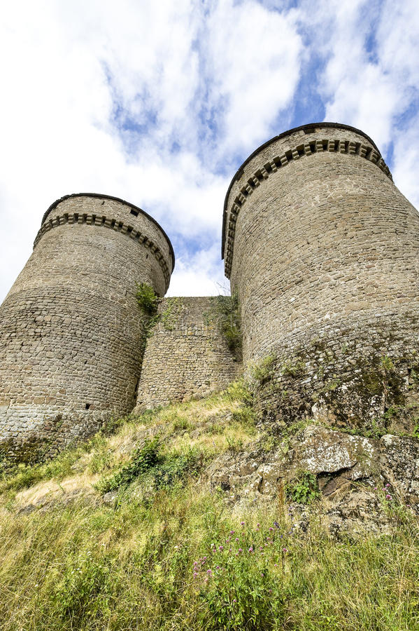 Lassay-les-Chateaux stock photo. Image of cylindrical ...