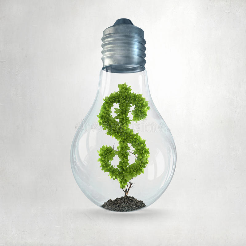 Lassen Sie Ihre Investitionen wachsen lizenzfreie stockfotos