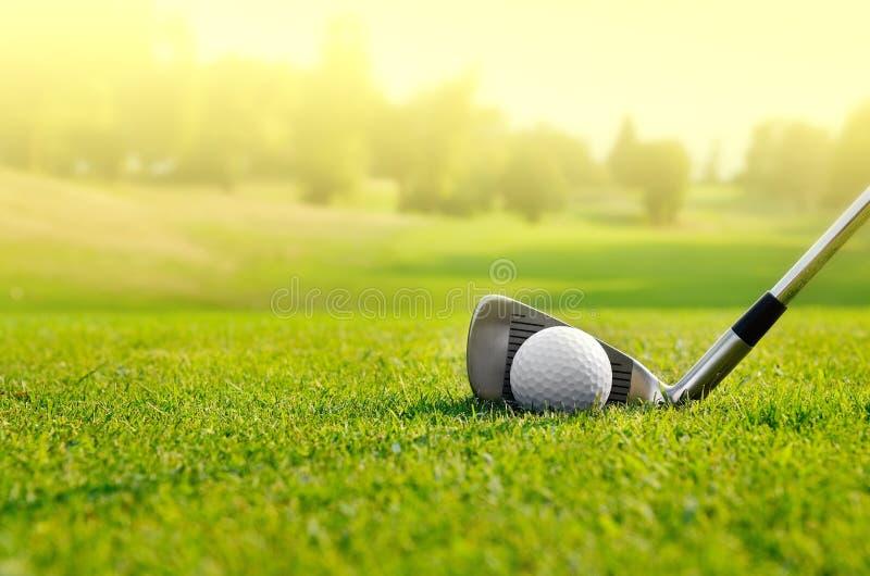 Lassen Sie uns Golf spielen lizenzfreie stockfotografie