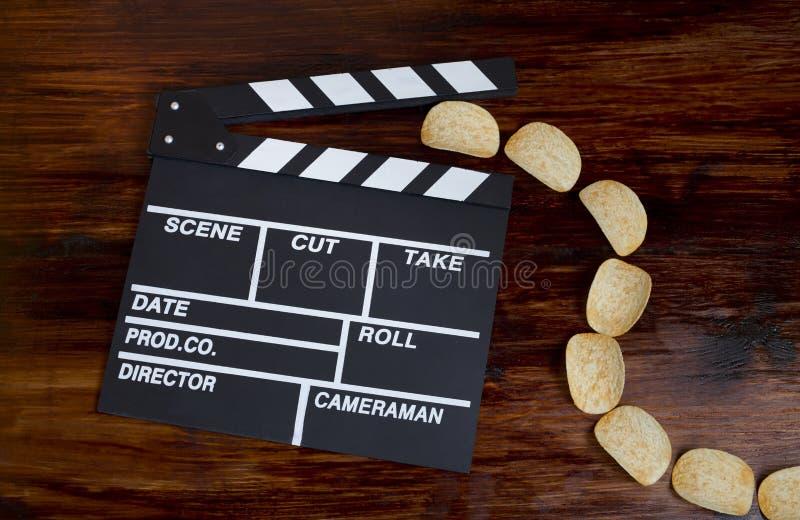 Lassen Sie uns ins Kino gehen im Augenblick! lizenzfreie stockfotografie