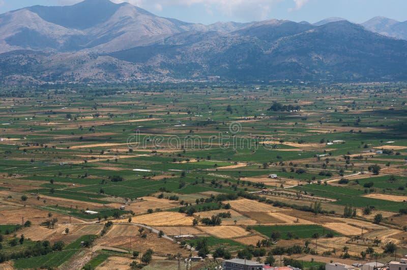 Lassithi plateau famous landmark of Crete. Greece stock images
