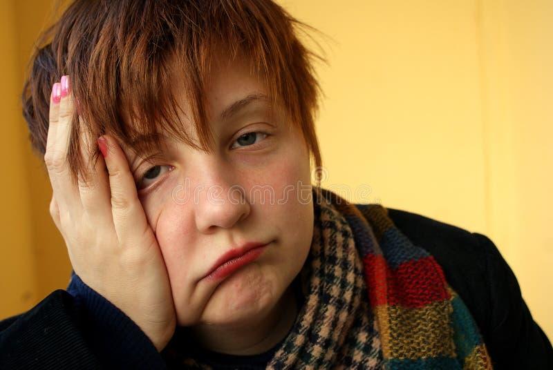 Lassitude de lassitude de fatigue de fatigue image libre de droits