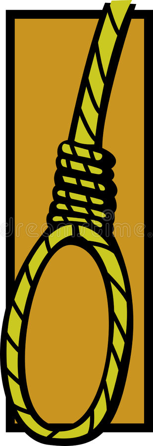 lasso samobójstwo ilustracja wektor