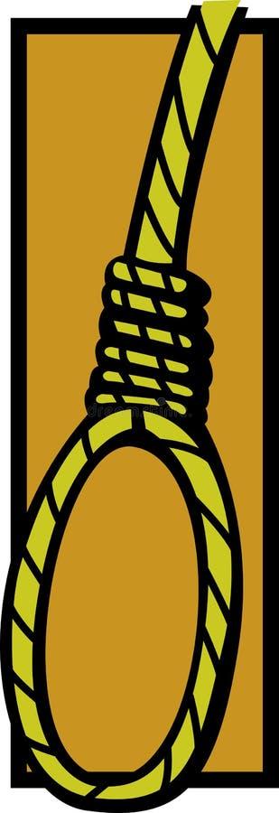 lassosjälvmord vektor illustrationer