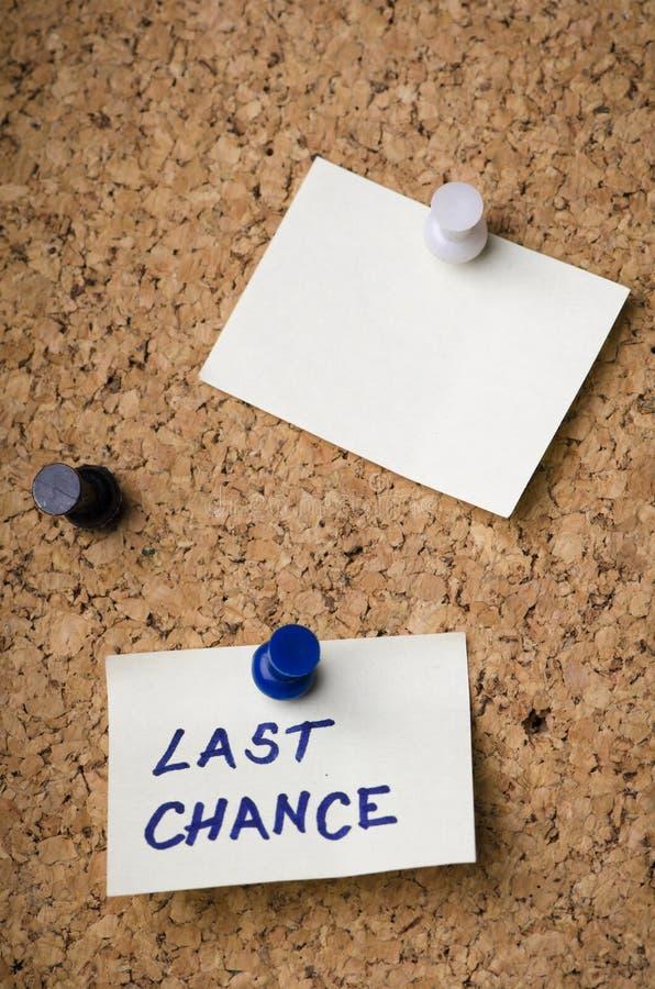 Last chance stock photos
