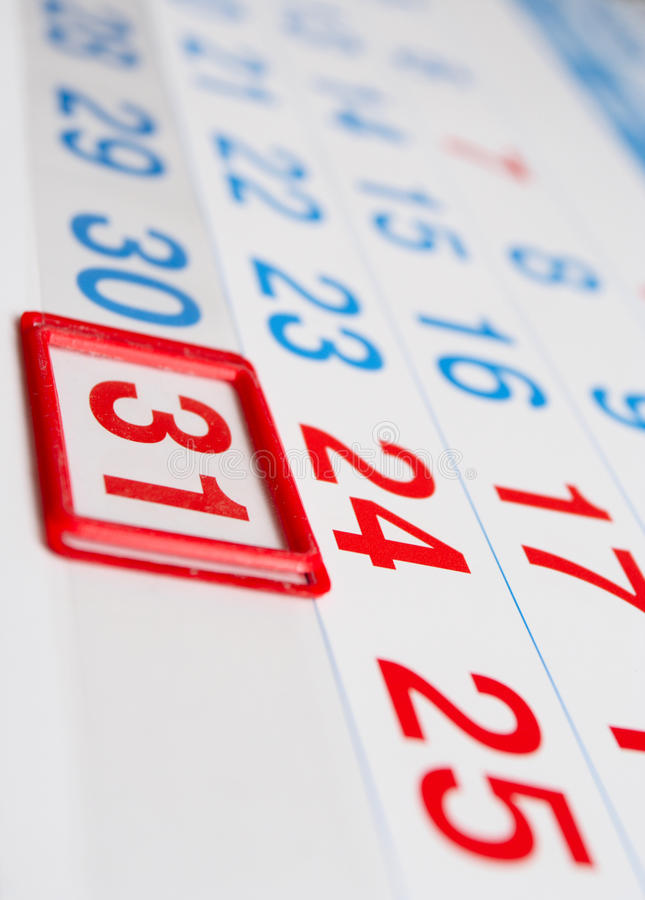 Download Last day of the month stock photo. Image of week, event - 9531872