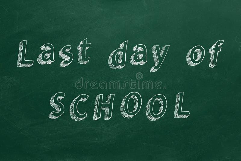 Last day of SCHOOL royalty free stock photos