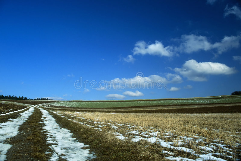 Download Last Days of Winter stock photo. Image of snow, winter - 495278