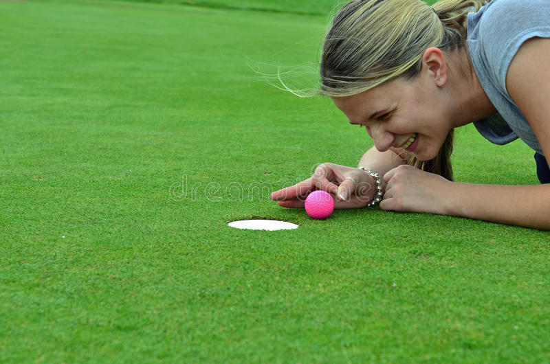 Download The last inch stock image. Image of green, golf, golfer - 24898253