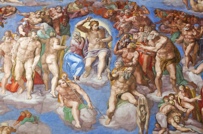 The Last Judgment royalty free stock image