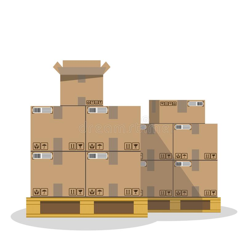 last. L?daaskar. moving stock illustrationer