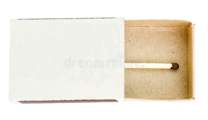 Download Last match in box. stock photo. Image of light, luck, matchboxes - 2719654