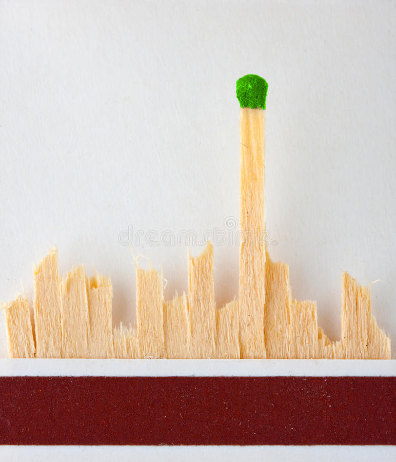 Download Last match standing stock photo. Image of head, matchbox - 19849524