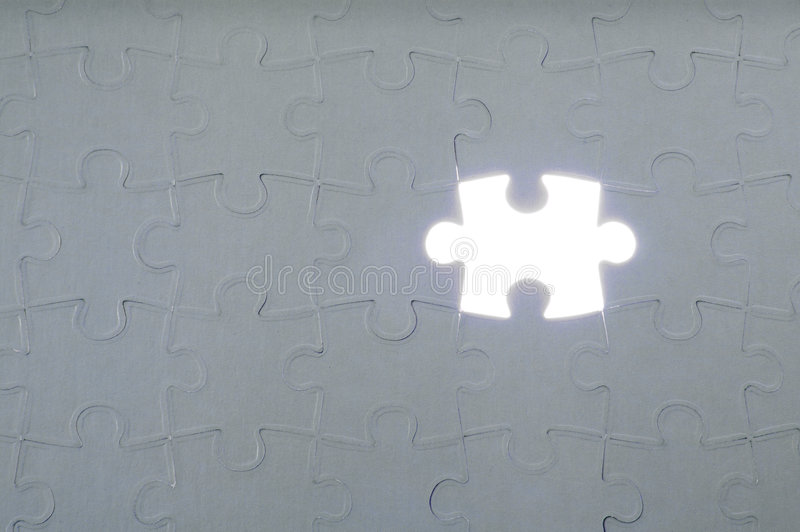 Download Last piece of the puzzle stock image. Image of rays, business - 7210373