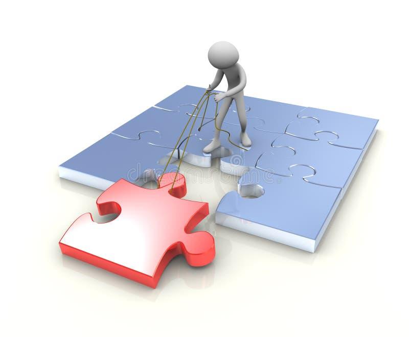 Download Last Puzzle Piece Stock Photo - Image: 19078770