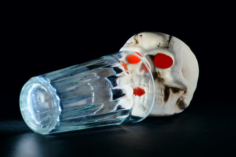 Download Last sip stock illustration. Image of death, skull, drinking - 6392737