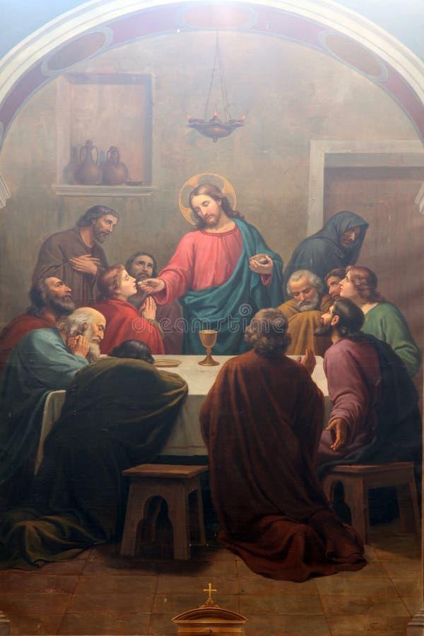 Last Supper stock photos