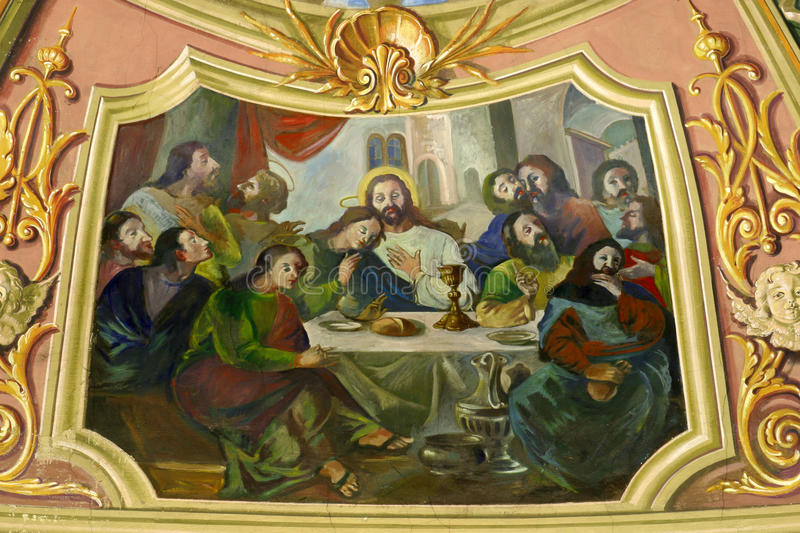Download Last Supper stock image. Image of bible, body, holy, week - 13626495