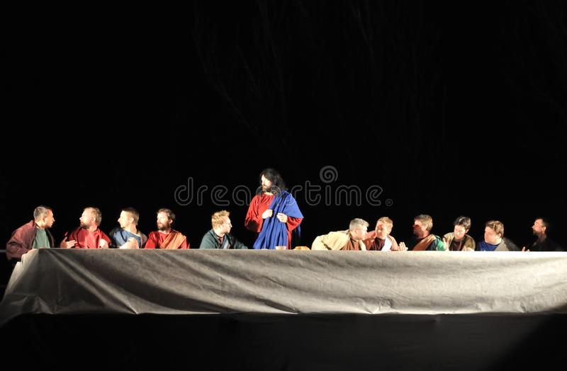 Last Supper Editorial Stock Image