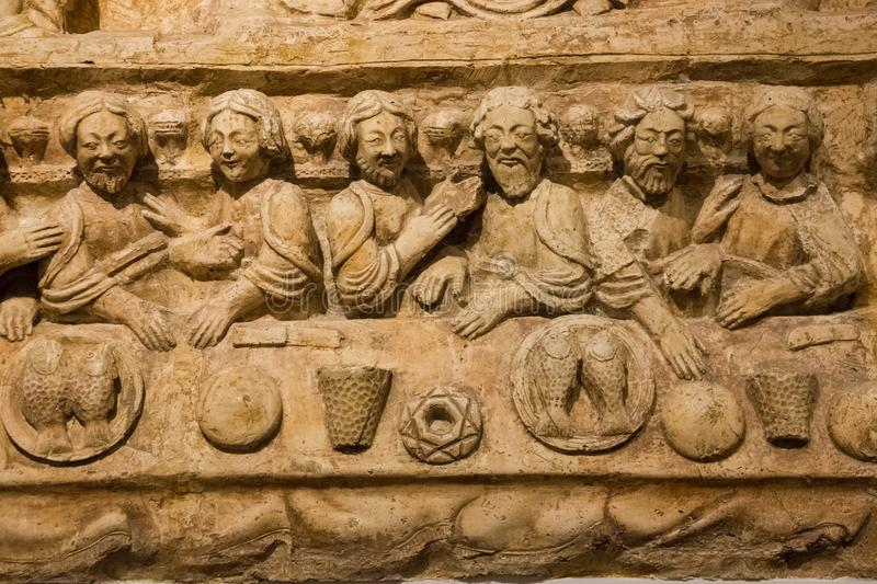 Last supper. Bari. Apulia or Puglia. Italy royalty free stock photography